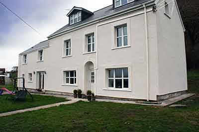 EWI Refurbishment Project, Ffrwd Farm
