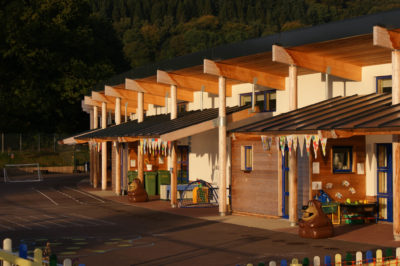 EWI New Build Project, Llanfoist School
