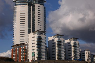 EWI New Build Project, Meridian Quay, Cardiff