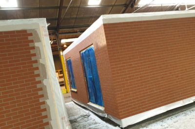 Installation Brick Slips