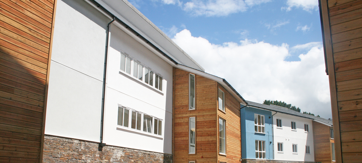 EWI New Build Project, Student Accommodation, Penryn
