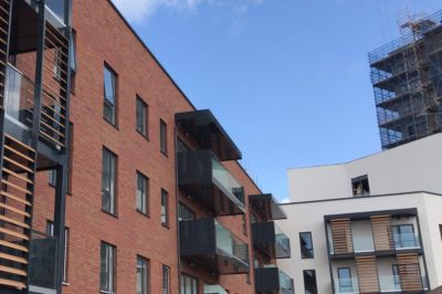 New Build Cladding System, Solihull Retirement Village