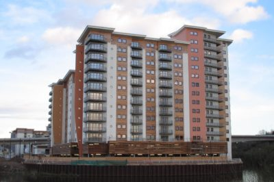 EWI New Build Project, Victoria Wharf, Cardiff