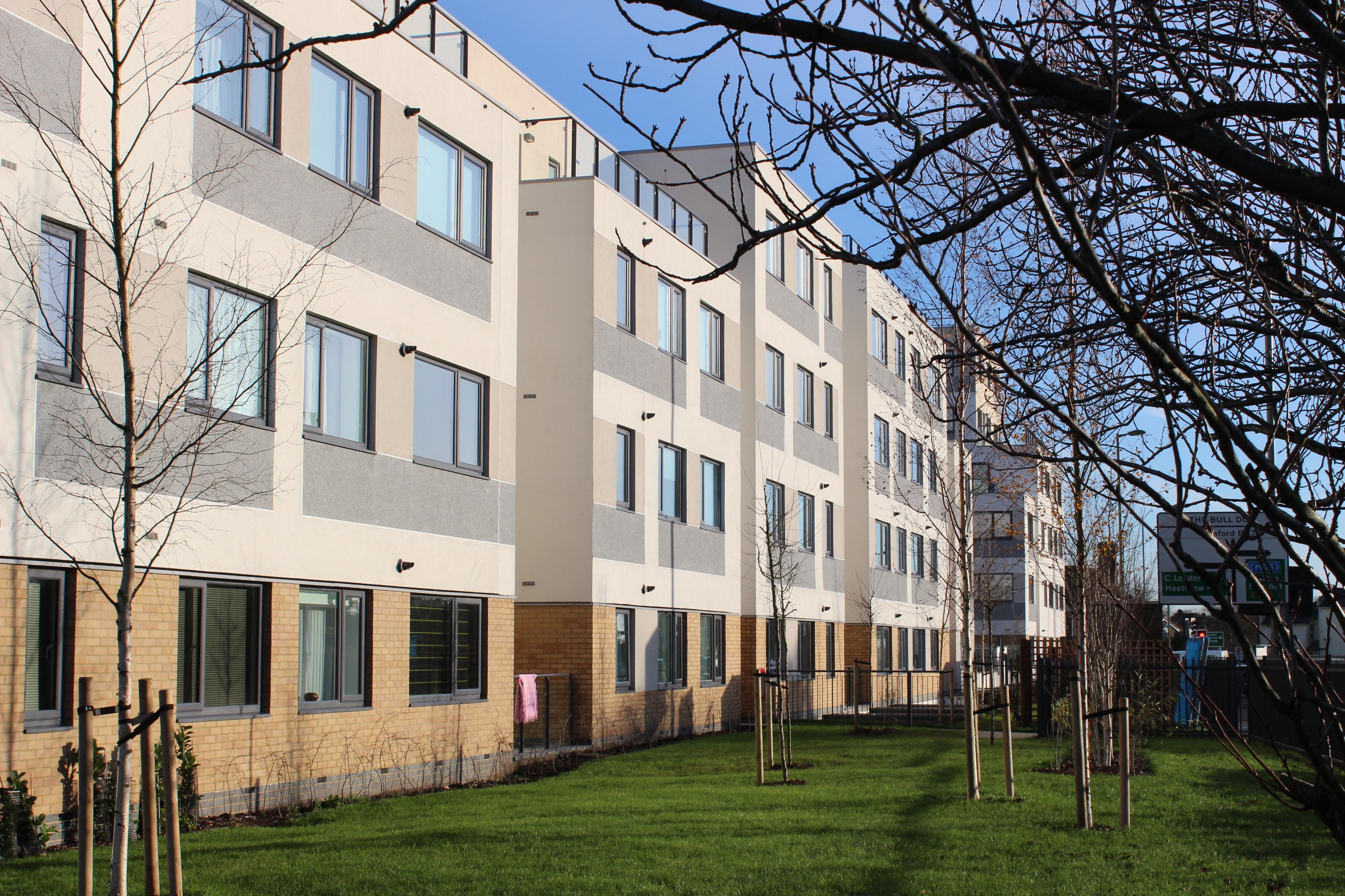 EWI New Build Project, West Plaza