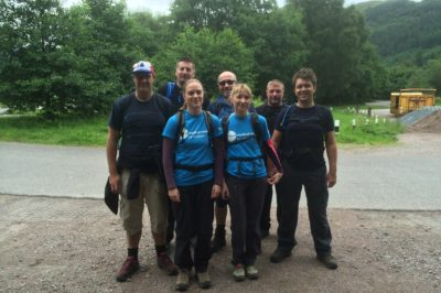 SPSenvirowall Heroes Take on Three Peaks