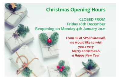 Christmas Opening & Delivery Times